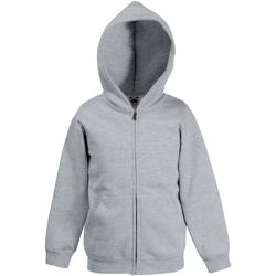 textil Børn Sweatshirts Fruit Of The Loom SS825 Heather Grey
