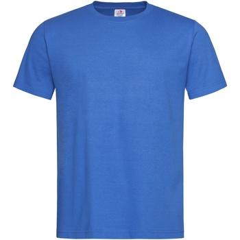 textil Herre T-shirts m. korte ærmer Stedman Stars  Bright Royal