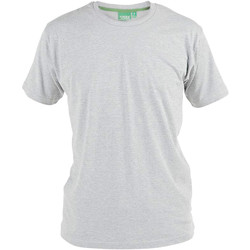 textil Herre T-shirts m. korte ærmer Duke  Grey Melange