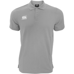 textil Herre Polo-t-shirts m. korte ærmer Canterbury CN220 Grey Marl
