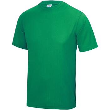 textil Børn T-shirts m. korte ærmer Awdis JC01J Kelly Green