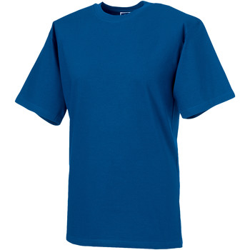 textil Herre T-shirts m. korte ærmer Russell 215M Bright Royal