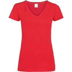 textil Dame T-shirts m. korte ærmer Universal Textiles Value Bright Red