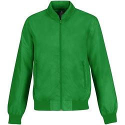 textil Herre Jakker B And C Trooper Real Green/ Neon Orange