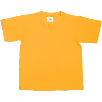 textil Børn T-shirts m. korte ærmer B And C Exact Gold