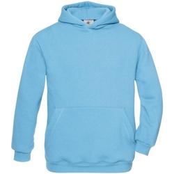 textil Børn Sweatshirts B And C WK681 Very Turquoise