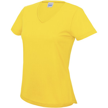 textil Dame T-shirts m. korte ærmer Awdis JC006 Sun Yellow