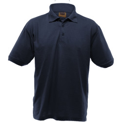 textil Herre Polo-t-shirts m. korte ærmer Ultimate Clothing Collection UCC004 Navy Blue