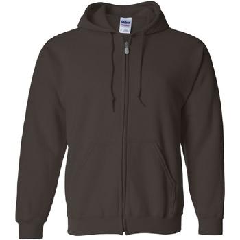 textil Herre Sweatshirts Gildan 18600 Dark Chocolate