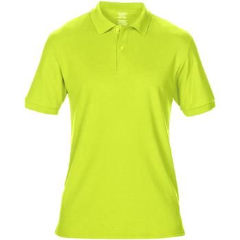 textil Herre Polo-t-shirts m. korte ærmer Gildan 75800 Safety Green