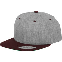 Accessories Kasketter Yupoong YP002 Heather/ Maroon