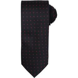 textil Herre Slips og accessories Premier Dot Pattern Black/ Red
