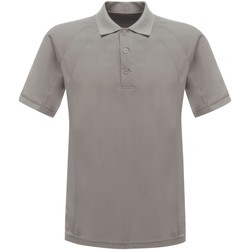 textil Herre Polo-t-shirts m. korte ærmer Regatta RG524 Silver Grey