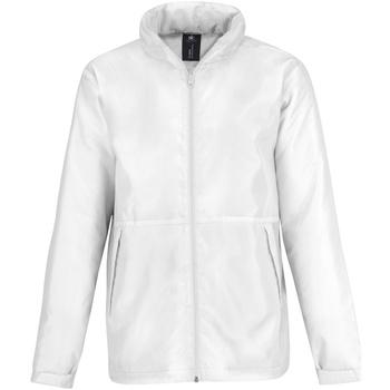 textil Herre Fleecetrøjer B And C JM825 White/ White