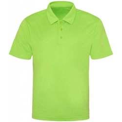textil Herre Polo-t-shirts m. korte ærmer Awdis JC040 Electric Green