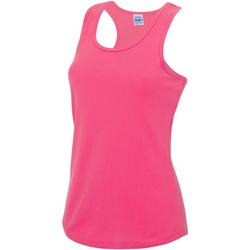 textil Dame Toppe / T-shirts uden ærmer Awdis JC015 Electric Pink