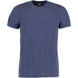 textil Herre T-shirts m. korte ærmer Kustom Kit KK504 Denim Marl