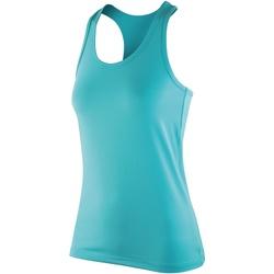 textil Dame Toppe / T-shirts uden ærmer Spiro SR281F Peppermint