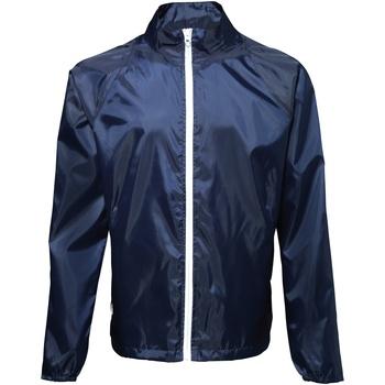 textil Herre Vindjakker 2786  Navy/ White