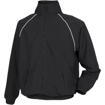 textil Herre Vindjakker Tombo Teamsport TL400 Black/ White piping