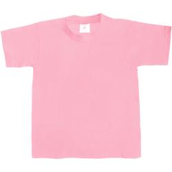 textil Børn T-shirts m. korte ærmer B And C TK301 Pink Sixties