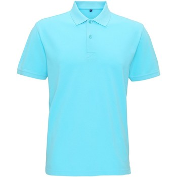 textil Herre Polo-t-shirts m. korte ærmer Asquith & Fox AQ017 Bright Ocean
