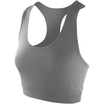 textil Dame Toppe / T-shirts uden ærmer Spiro S282F Cloudy Grey