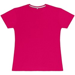 textil Dame T-shirts m. korte ærmer Sg Perfect Dark Pink