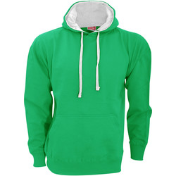 textil Herre Sweatshirts Fdm FH002 Kelly Green/White