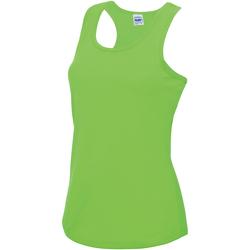 textil Dame Toppe / T-shirts uden ærmer Awdis JC015 Electric Green