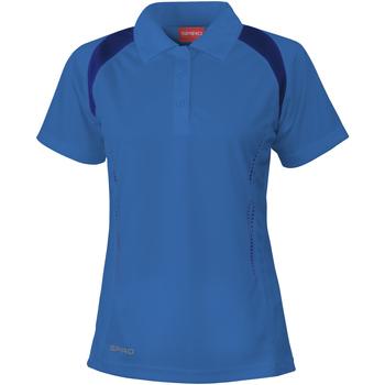 textil Dame Polo-t-shirts m. korte ærmer Spiro S177F Royal/Navy