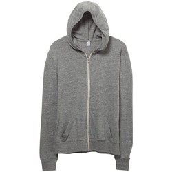 textil Herre Sweatshirts Alternative Apparel AT002 Eco Grey