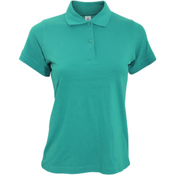 textil Dame Polo-t-shirts m. korte ærmer B And C PW455 Real Turquoise