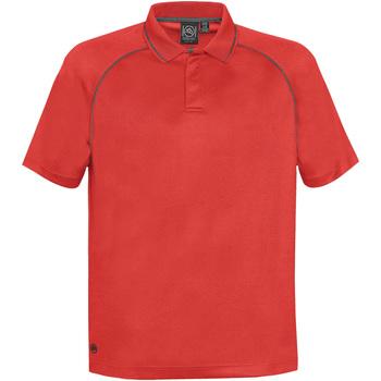 textil Herre Polo-t-shirts m. korte ærmer Stormtech GPX-4 Bright Red/Carbon