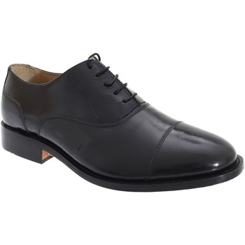 Sko Herre Richelieu Kensington Classics Capped Oxford Black