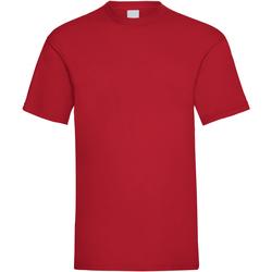 textil Herre T-shirts m. korte ærmer Universal Textiles 61036 Dark Red