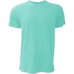 textil Herre T-shirts m. korte ærmer Bella + Canvas CA3001 Teal