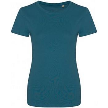 textil Dame T-shirts m. korte ærmer Ecologie EA01F Ink Blue