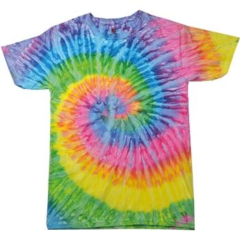 textil Dame T-shirts m. korte ærmer Colortone Rainbow Saturn