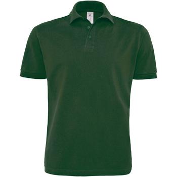 textil Herre Polo-t-shirts m. korte ærmer B And C PU422 Bottle Green