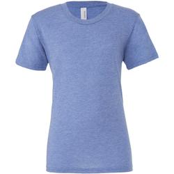 textil Herre T-shirts m. korte ærmer Bella + Canvas CA3413 Blue Triblend