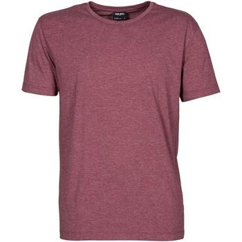 textil Herre T-shirts m. korte ærmer Tee Jays TJ5050 Wine Melange