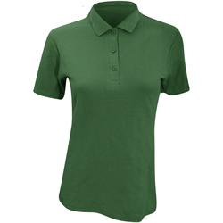 textil Dame Polo-t-shirts m. korte ærmer Anvil 6280L Forest Green