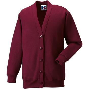 textil Børn Veste / Cardigans Jerzees Schoolgear 273B Burgundy