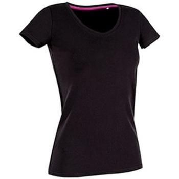 textil Dame T-shirts m. korte ærmer Stedman Stars Claire Black Opal
