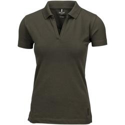 textil Dame Polo-t-shirts m. korte ærmer Nimbus Harvard Olive