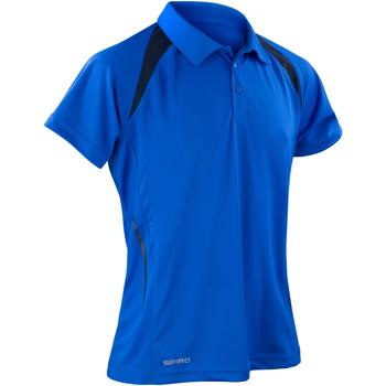 textil Herre Polo-t-shirts m. korte ærmer Spiro S177M Royal/Navy
