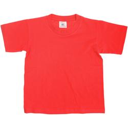 textil Børn T-shirts m. korte ærmer B And C TK300 Red