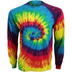 textil Langærmede T-shirts Colortone TD15M Rainbow