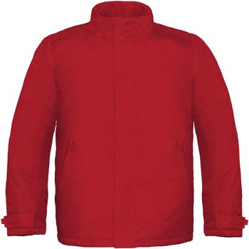 textil Herre Vindjakker B And C Real+ Deep Red